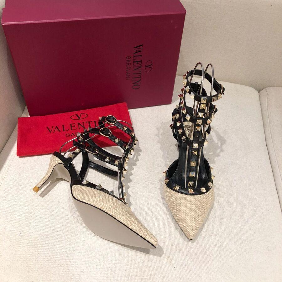 valentino 6.5cm high heeled shoes for women #430538 replica