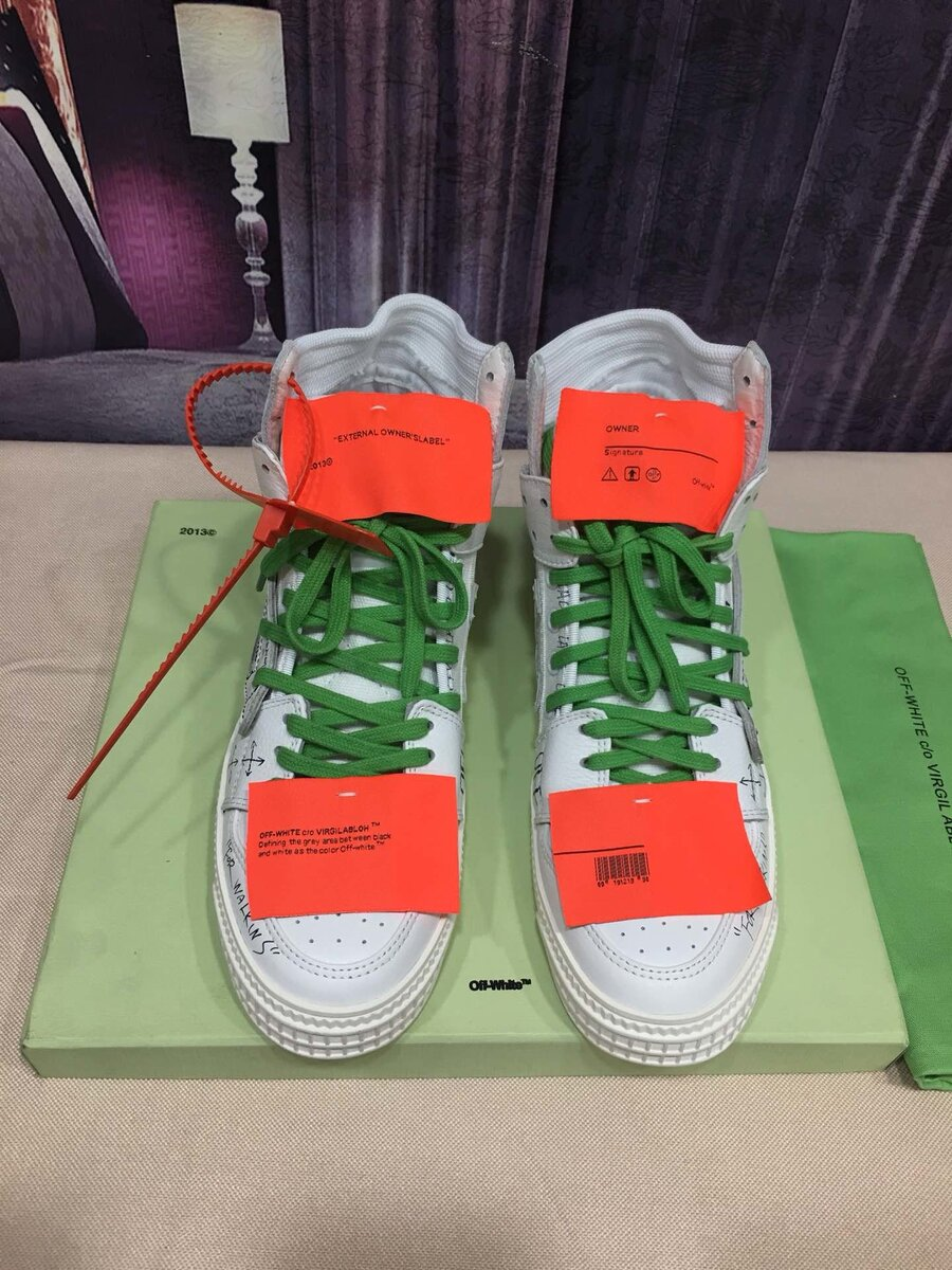 OFF WHITE shoes for men #430614 replica