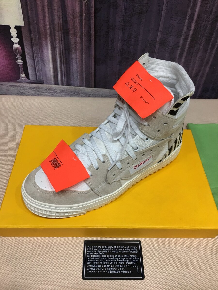 OFF WHITE shoes for Women #430631 replica