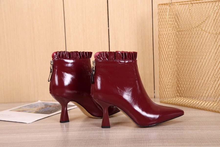 Fendi 8.5cm High-heeled Boots for women #430684 replica
