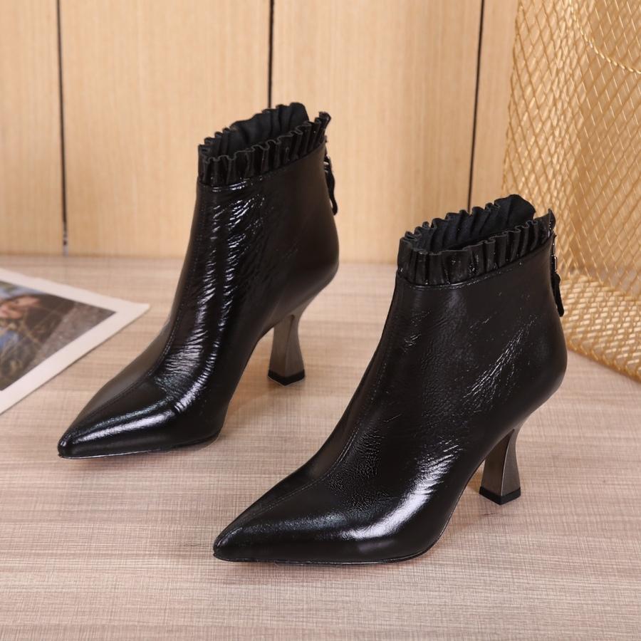 Fendi 8.5cm High-heeled Boots for women #430685 replica
