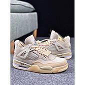 """Off-White & """"Air Jordan 4"""" Sneakers #426811"""