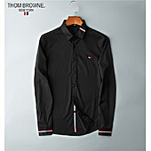 THOM BROWNE Shirts for THOM BROWNE Long-Sleeved Shirt for men #427248