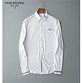 THOM BROWNE Shirts for THOM BROWNE Long-Sleeved Shirt for men #427249