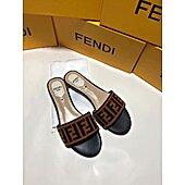Fendi shoes for Fendi slippers for women #428396