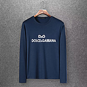 D&G Long Sleeved T-shirts for Men #430337