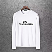 D&G Long Sleeved T-shirts for Men #430340
