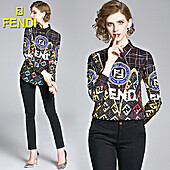 Fendi Shirts for Fendi Long-Sleeved Shirts for women #430418