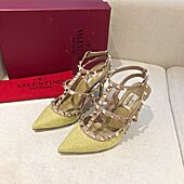 valentino 9.5cm high heeled shoes for women #430540