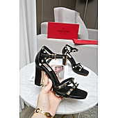 valentino 9cm high heeled shoes for women #432121