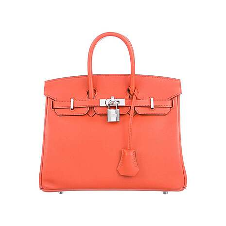 HERMÈS 2020 Swift Birkin Chevre 25 w/ Tags HER275094 Original sample
