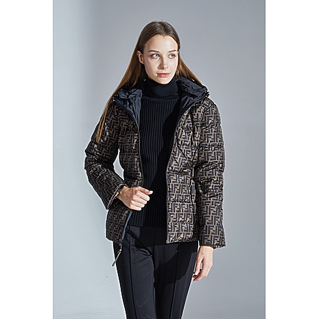 Fendi double-sided down jacket for women #434891