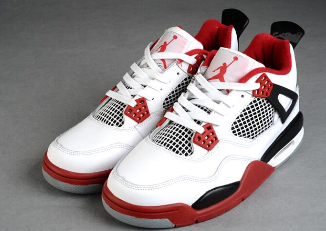"Air Jordan 4 RETRO ""FIRE RED"" for women replica"
