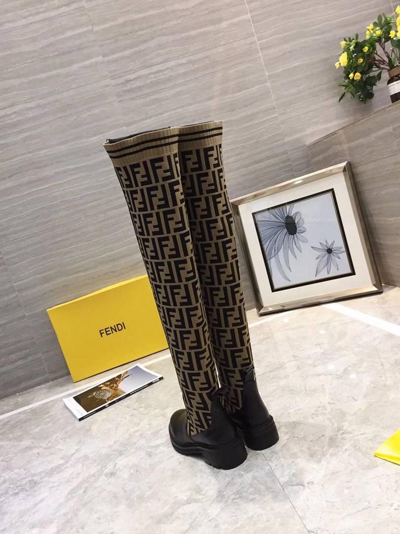 Fendi shoes for Fendi Boot for women #434364 replica