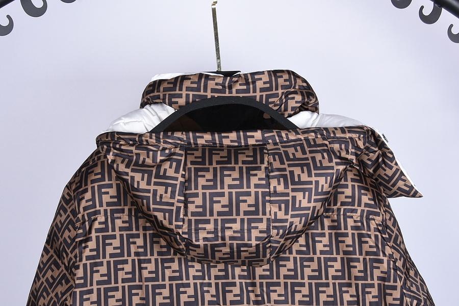 Fendi AAA+ double-sideddownjacket for Women #439497 replica