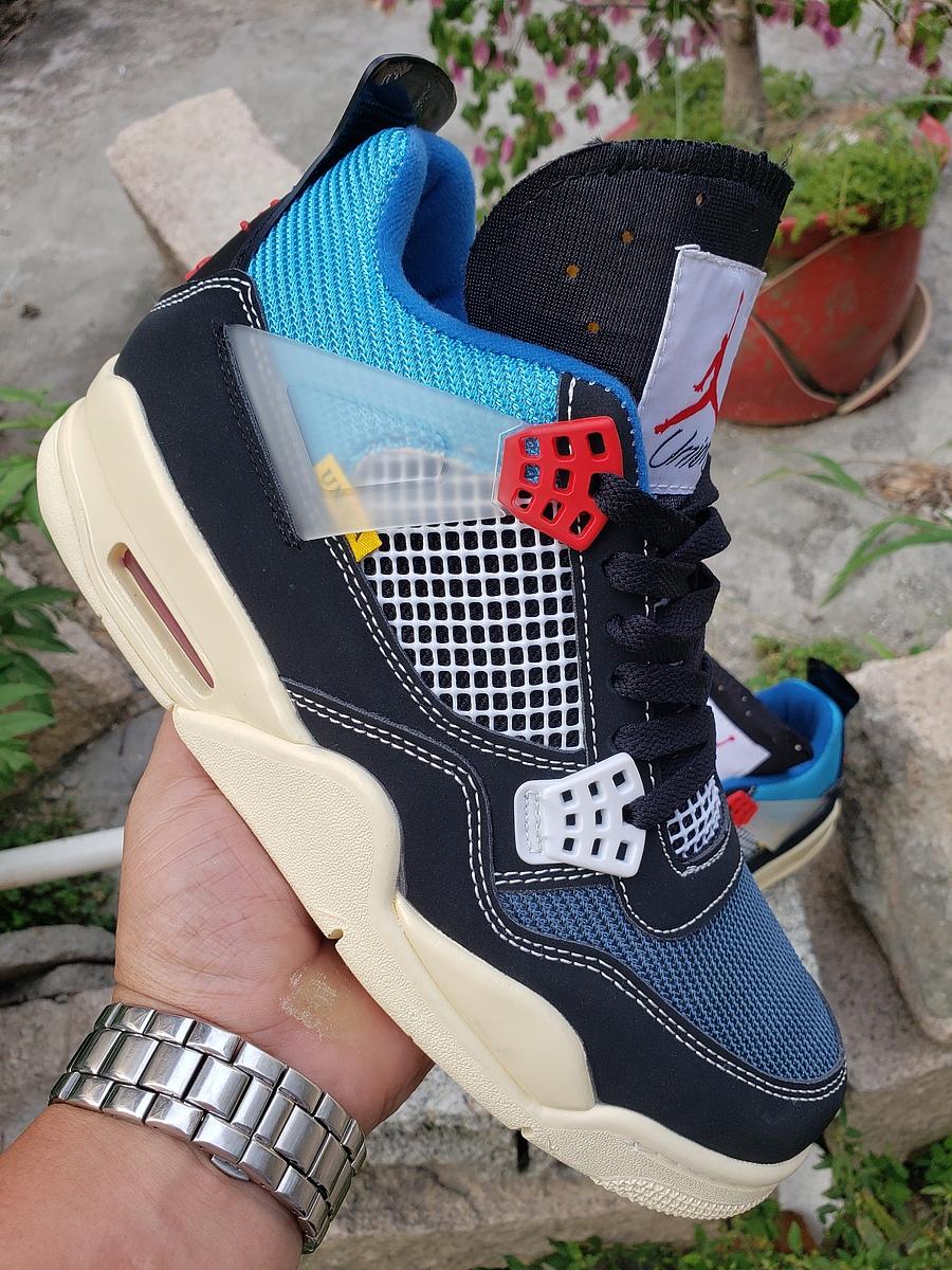 Union & Air Jordan 4 Shoes for men #439864 replica