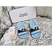 Alexander McQueen Shoes for Alexander McQueen slippers for men #439947