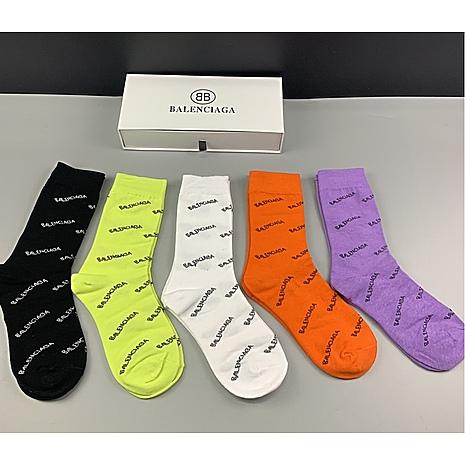 Balenciaga  Socks 5pcs sets #440411