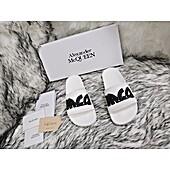 Alexander McQueen Shoes for Alexander McQueen slippers for men #440152