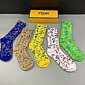 Fendi Socks 5pcs sets #440395