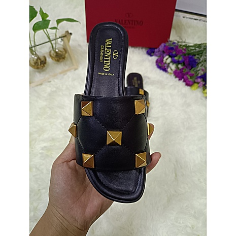 Valentino Shoes for VALENTINO Slippers for women #443878 replica