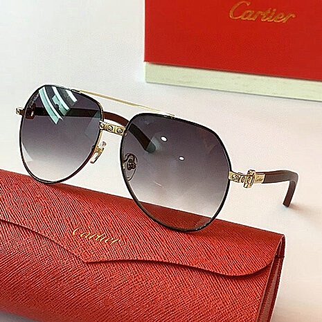 Cartier AAA+ Sunglasses #444558 replica