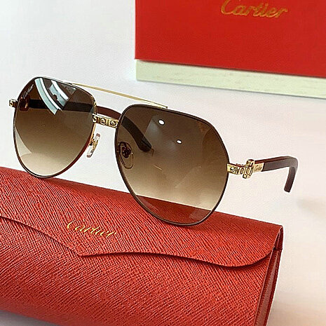 Cartier AAA+ Sunglasses #444560 replica