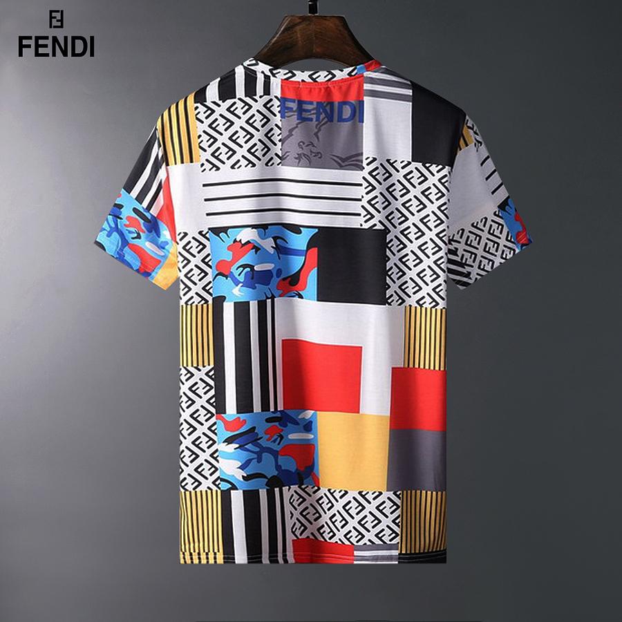 Fendi T-shirts for men #443434 replica