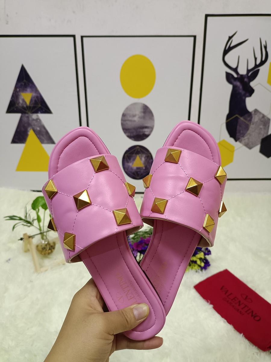 Valentino Shoes for VALENTINO Slippers for women #443880 replica