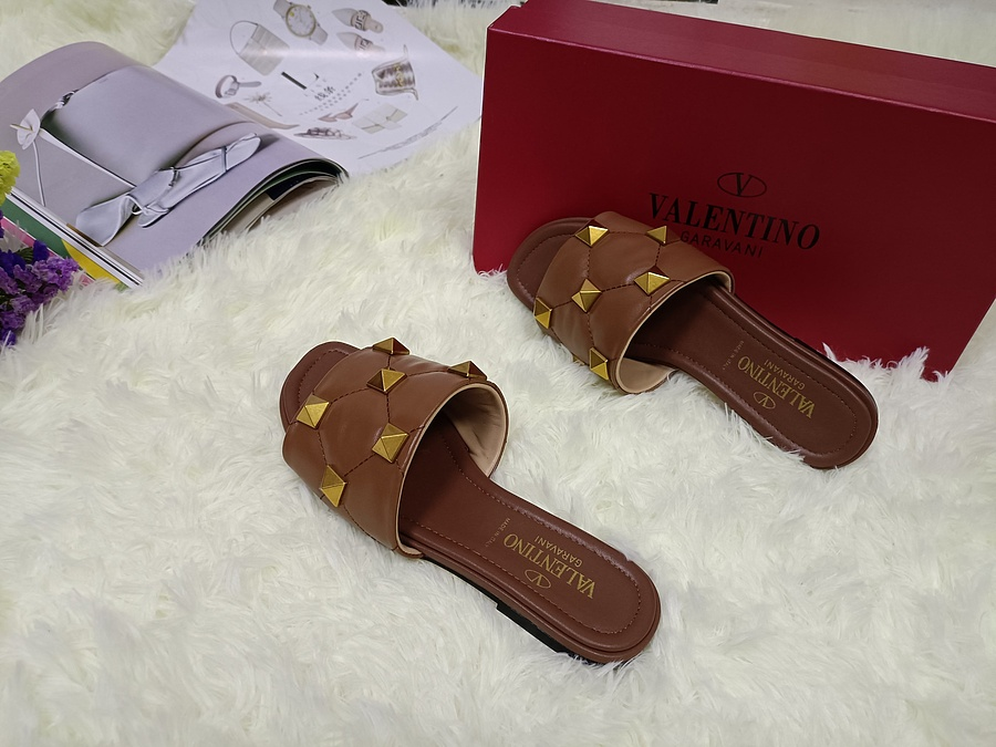 Valentino Shoes for VALENTINO Slippers for women #443882 replica