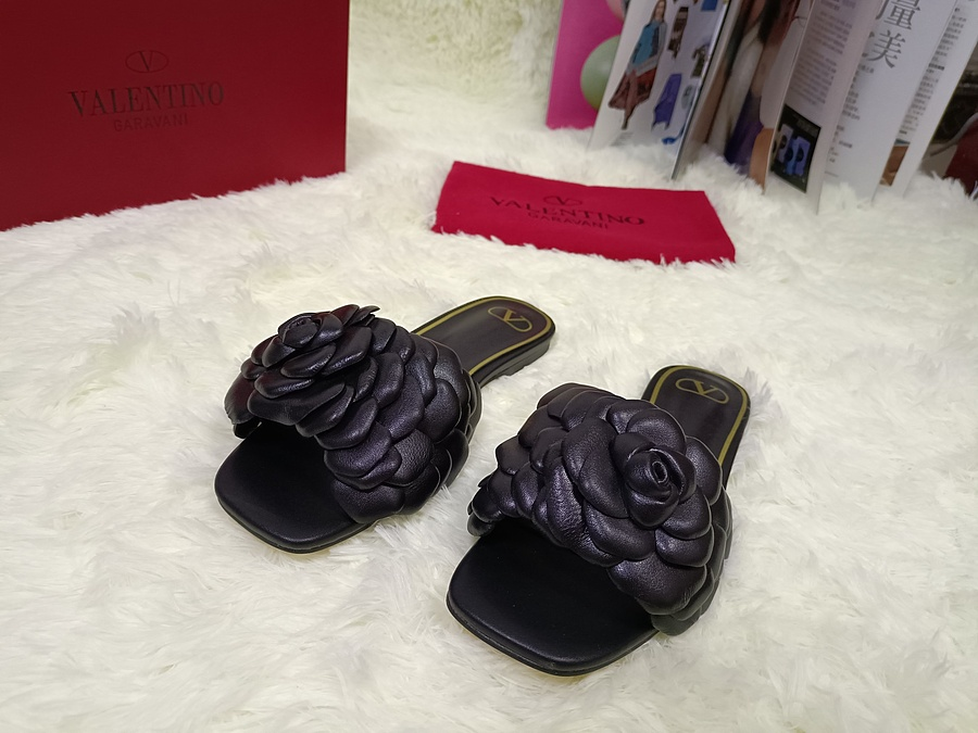 Valentino Shoes for VALENTINO Slippers for women #443883 replica