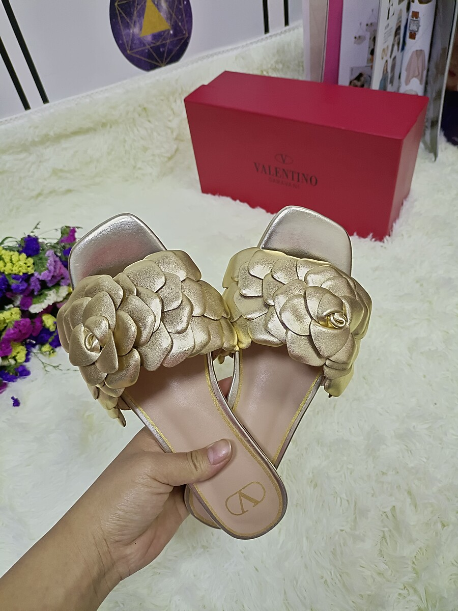 Valentino Shoes for VALENTINO Slippers for women #443885 replica