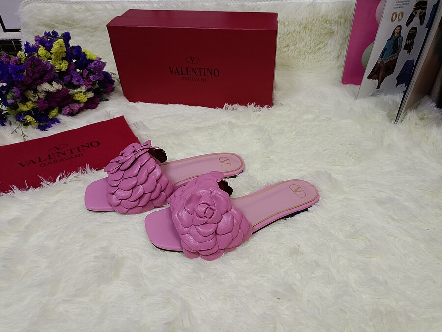Valentino Shoes for VALENTINO Slippers for women #443886 replica