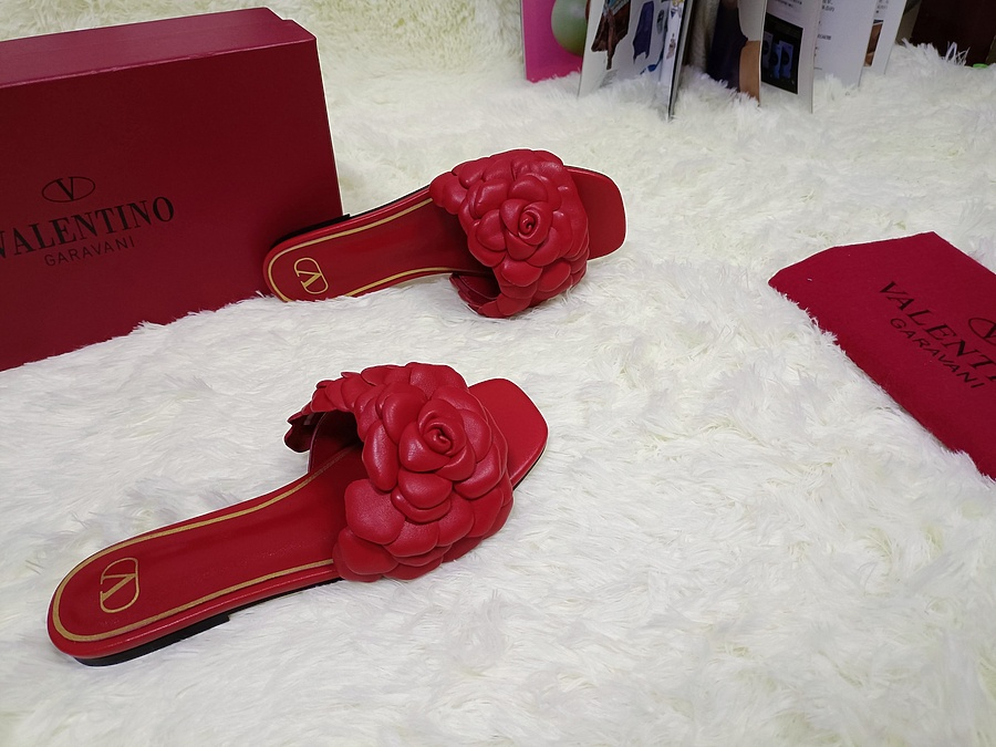 Valentino Shoes for VALENTINO Slippers for women #443887 replica