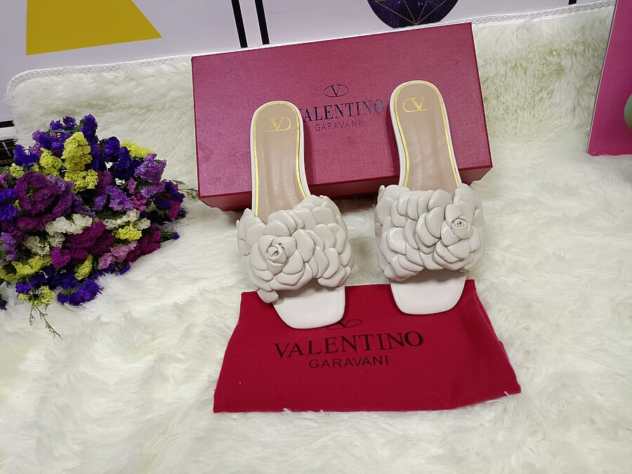 Valentino Shoes for VALENTINO Slippers for women #443888 replica