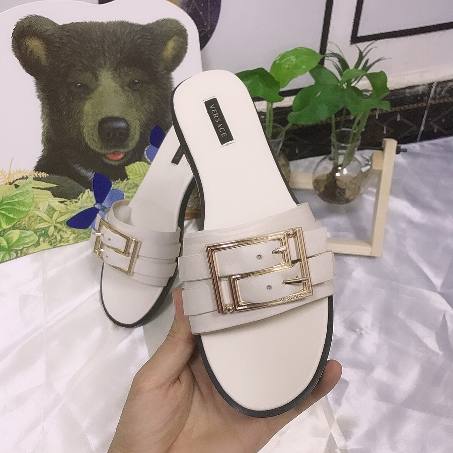 Versace shoes for versace Slippers for Women #443889 replica