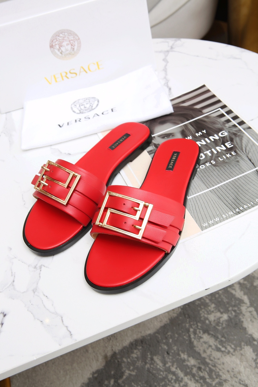 Versace shoes for versace Slippers for Women #443891 replica
