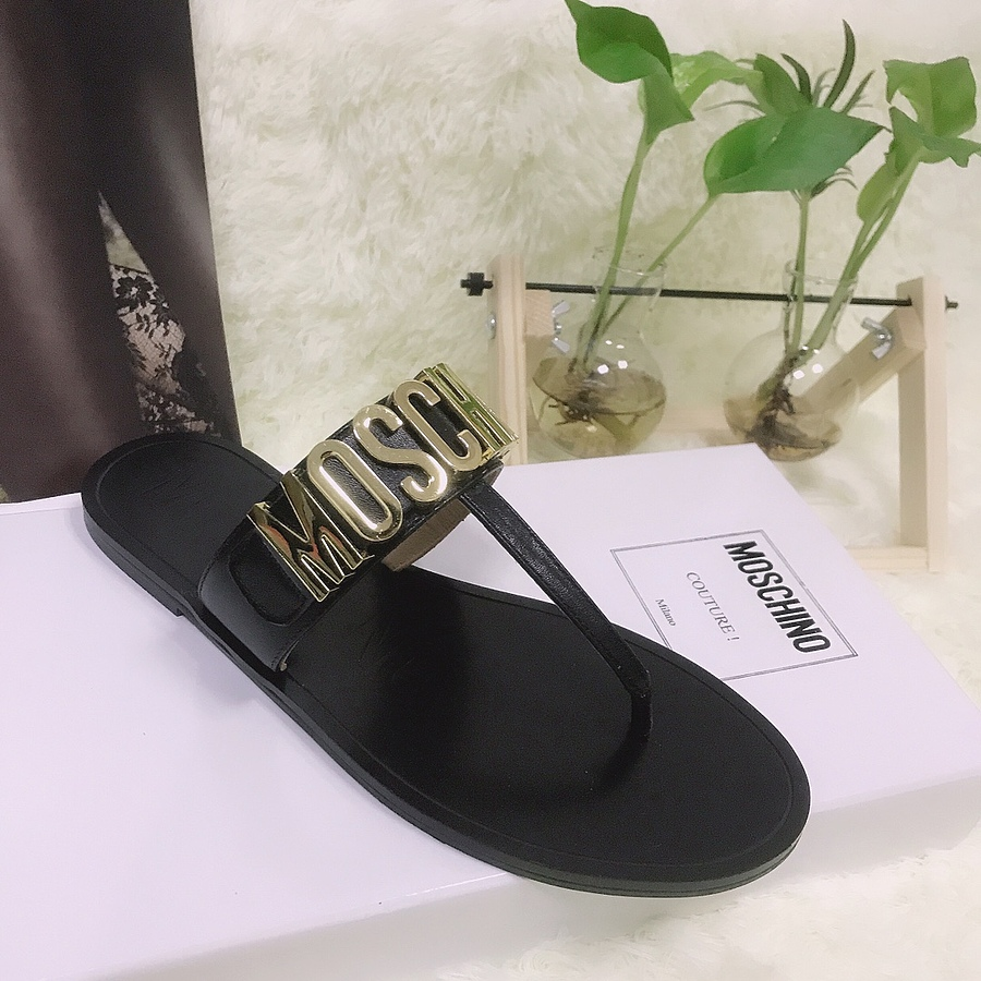 Moschino shoes for Moschino Slippers for Women #443894 replica