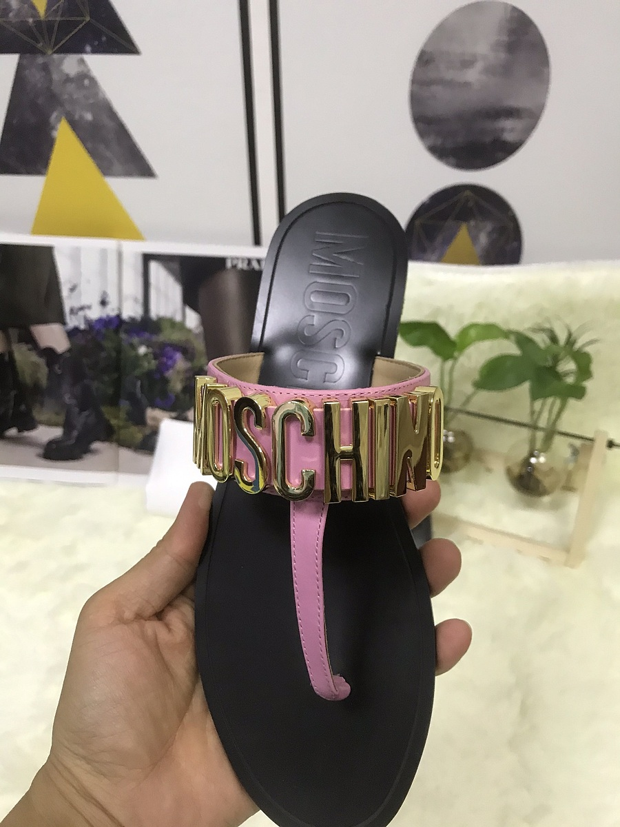 Moschino shoes for Moschino Slippers for Women #443895 replica