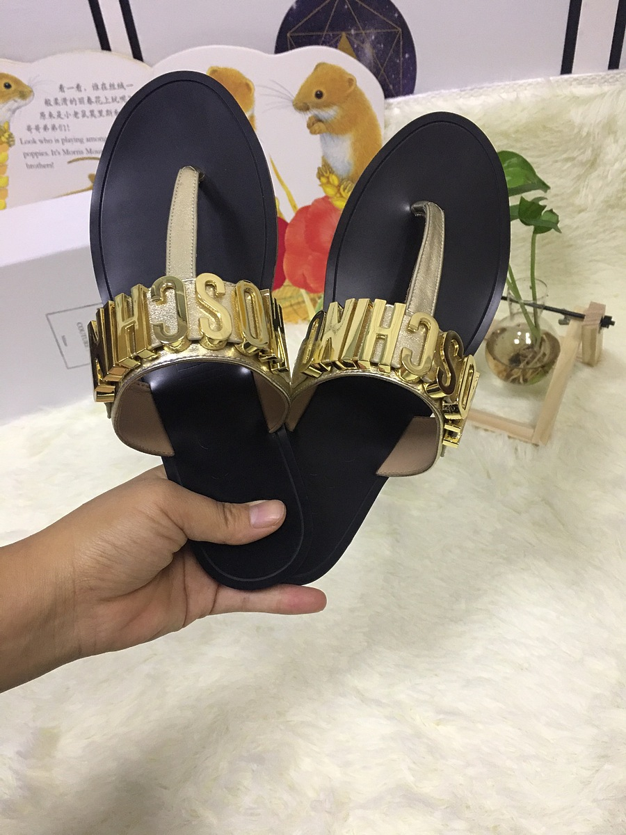 Moschino shoes for Moschino Slippers for Women #443897 replica
