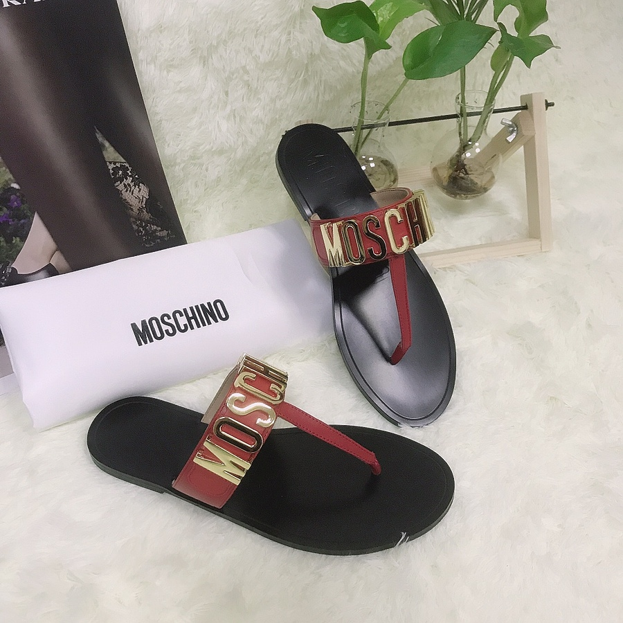 Moschino shoes for Moschino Slippers for Women #443898 replica