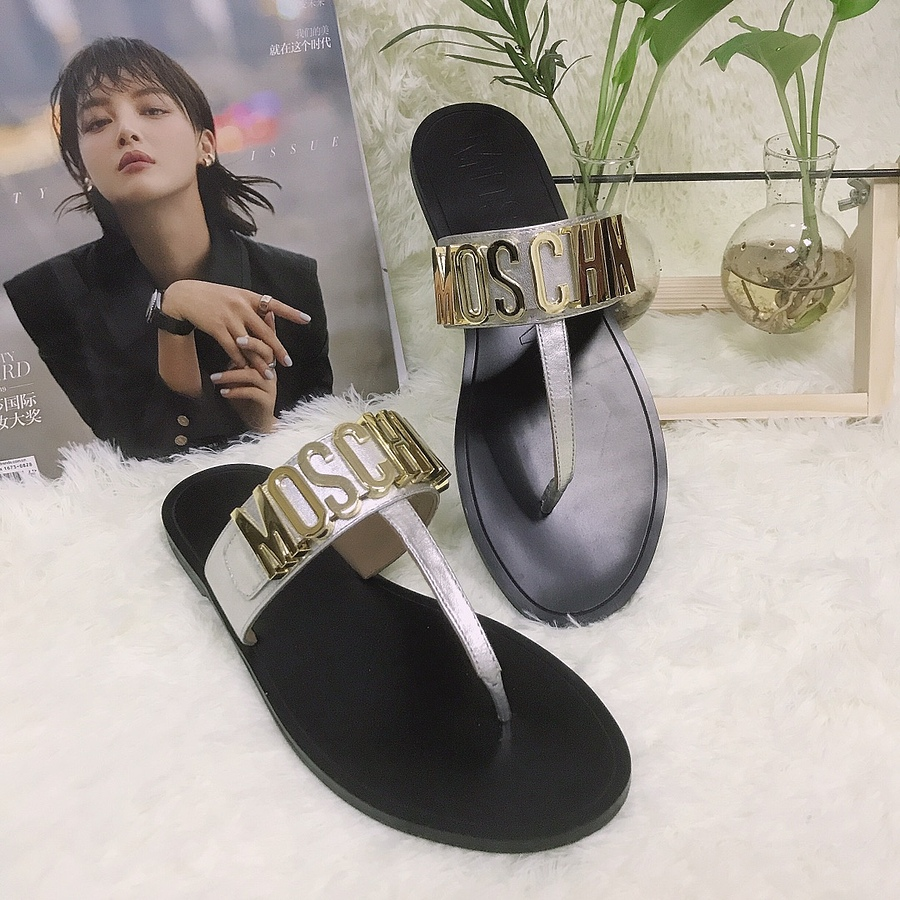 Moschino shoes for Moschino Slippers for Women #443899 replica