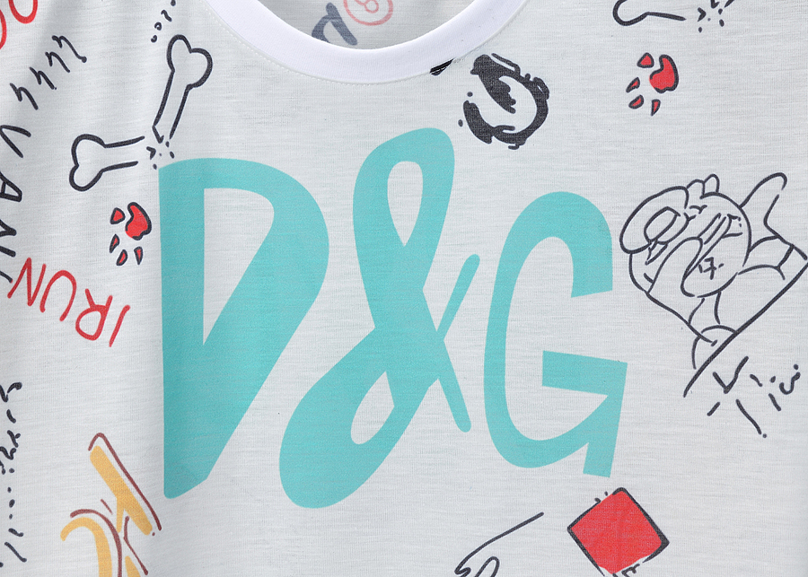 D&G T-Shirts for MEN #444033 replica
