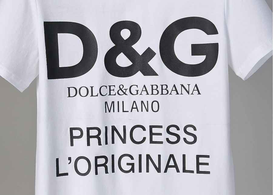 D&G T-Shirts for MEN #444039 replica