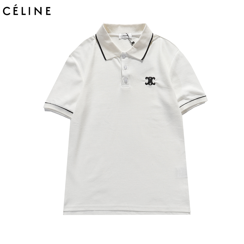 CELINE T-Shirts for MEN #444443 replica