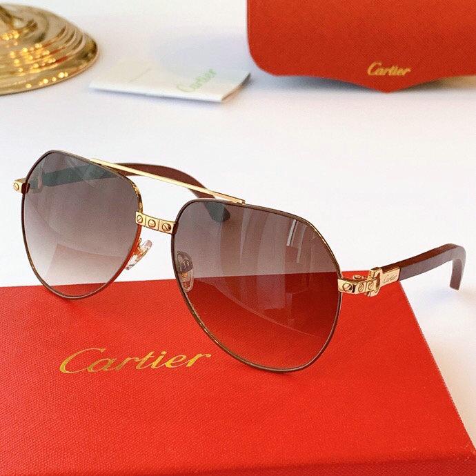 Cartier AAA+ Sunglasses #444545 replica