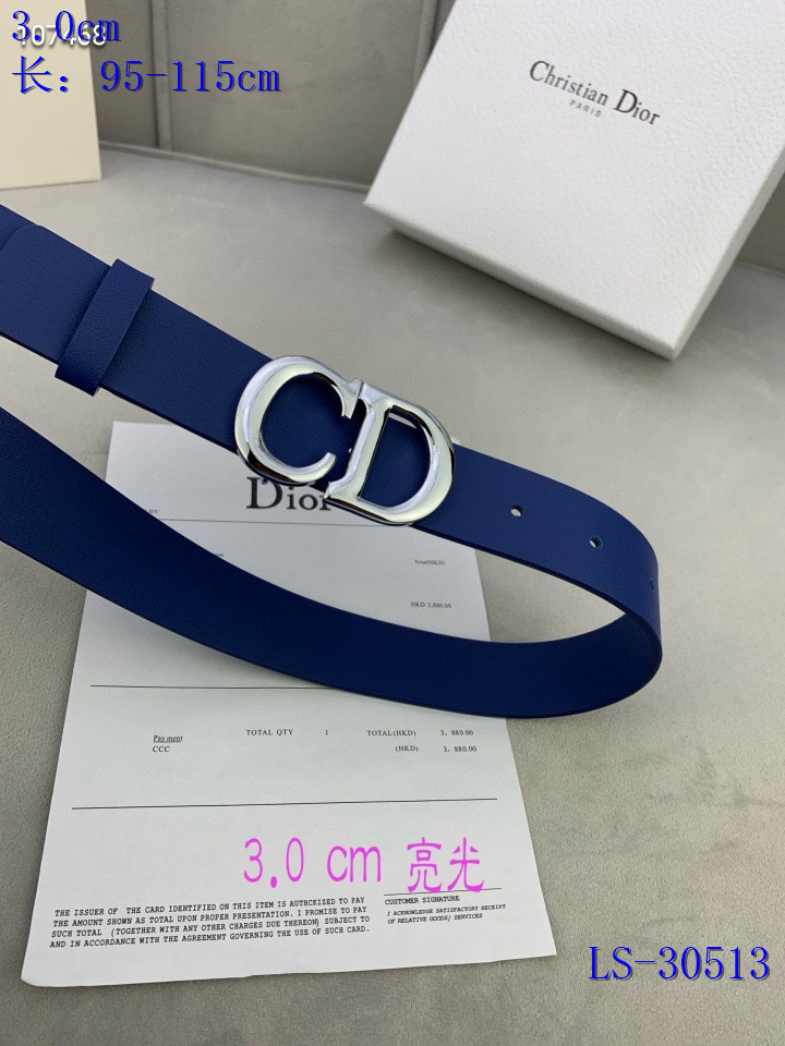 Dior AAA+ Belts #444837 replica