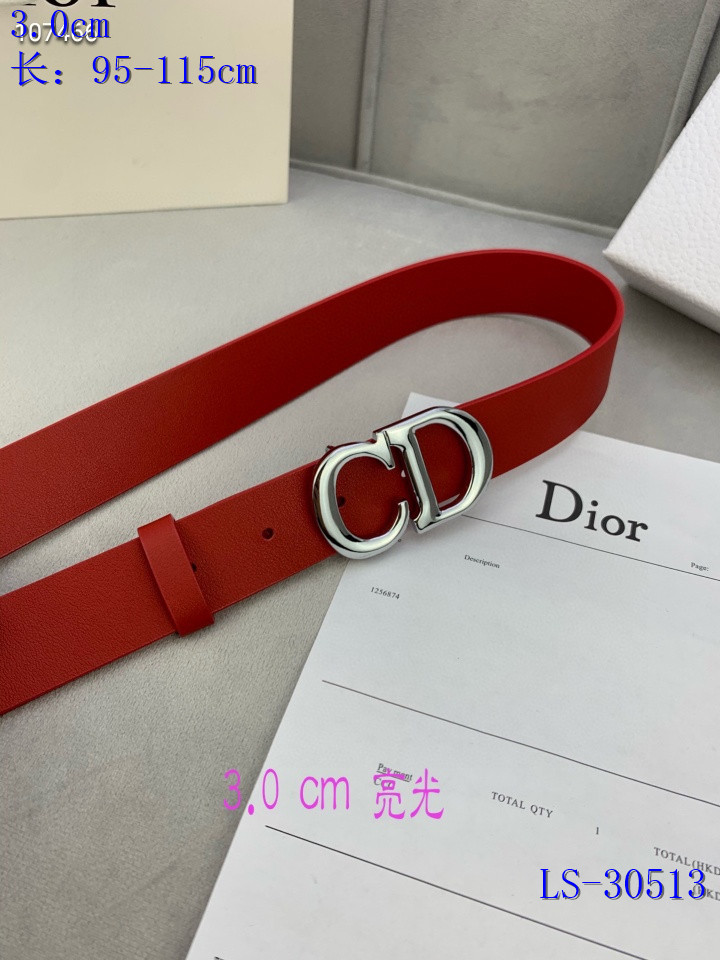 Dior AAA+ Belts #444838 replica