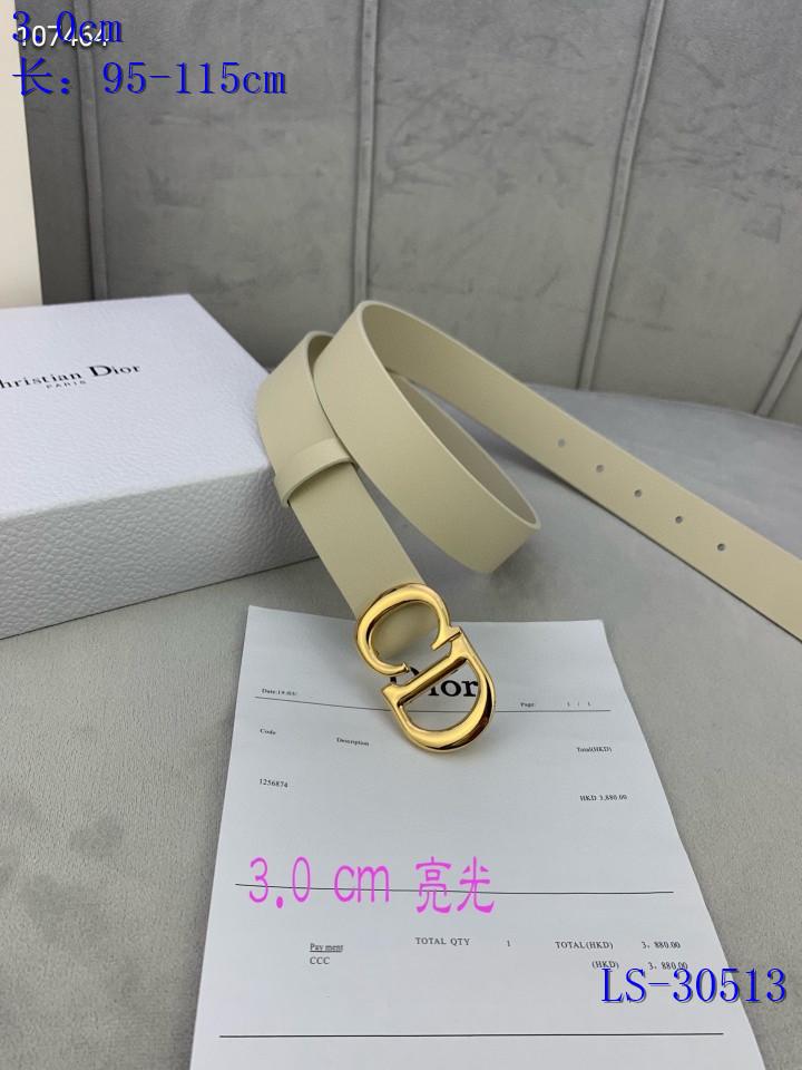 Dior AAA+ Belts #444840 replica