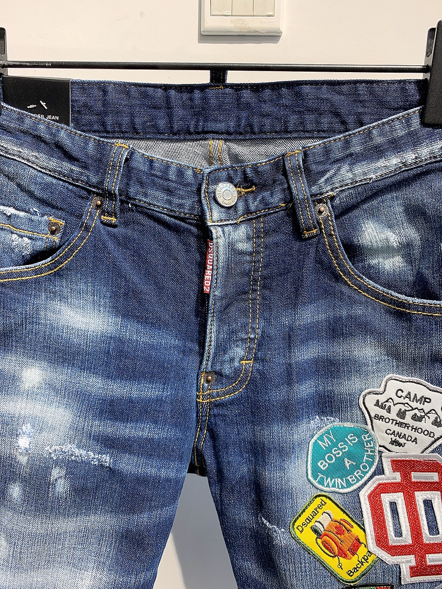 Dsquared2 Jeans for Dsquared2 short Jeans for MEN #445663 replica